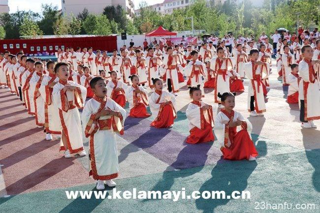 西月潭幼儿园举办毕业典礼