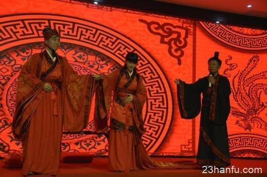 香港学子体验汉服婚礼仪式-图片1