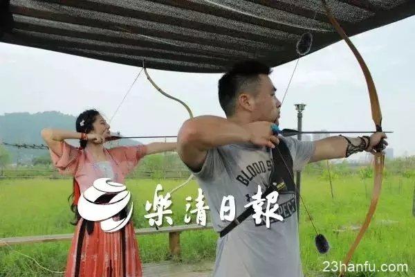 乐清美女喜欢穿汉服射箭,还射了个全国冠军,你认识吗?