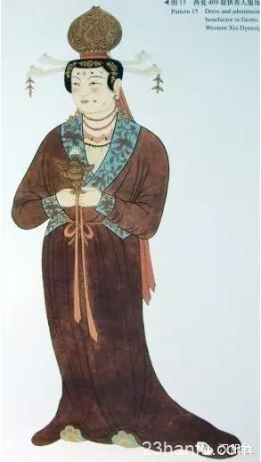 唐朝服饰的常见纹样